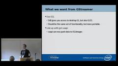 Wayland - GStreamer conferences
