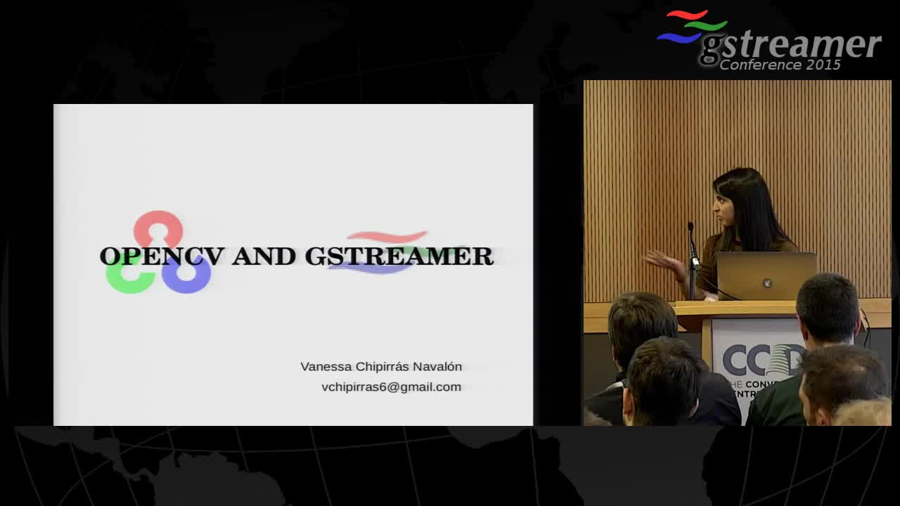 Opencv and Gstreamer - GStreamer conferences