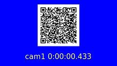 Robust lipsync calibration and error detection Using gstreamer and QR Codes