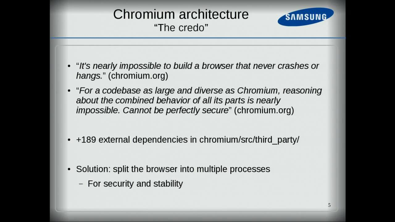 Chromium: a new media Backend based on GStreamer - GStreamer