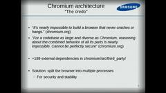 Chromium: a new media Backend based on GStreamer