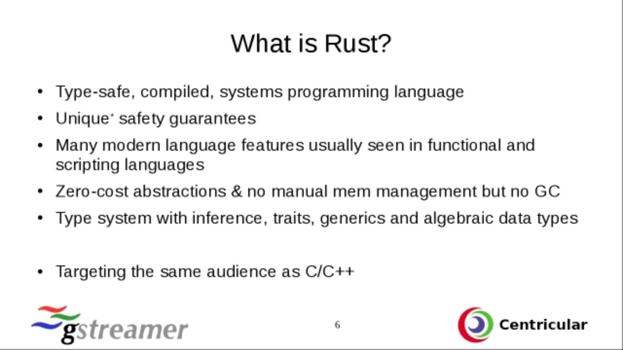 Corroded Pipelines, or how to write Gstreamer element in Rust