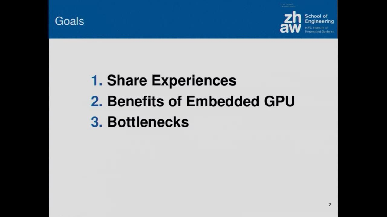 Efficient Video Processing on Embedded GPU - GStreamer conferences